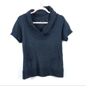 BCBGMAXAZRIA Sweater Blouse Cowl Neck